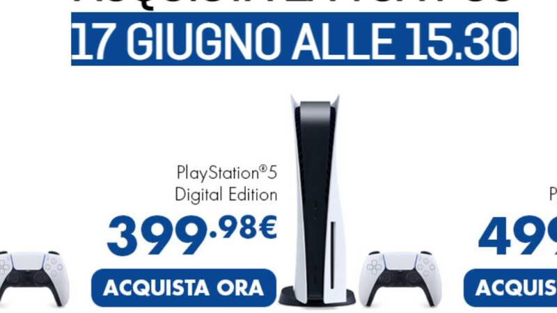 PlayStation 5 returns from GameStop! The sale starts at 3:30 pm!