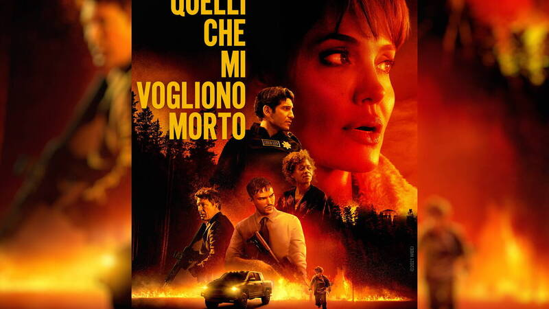 Those Who Want Me Dead, manhunt with Angelina Jolie, the review