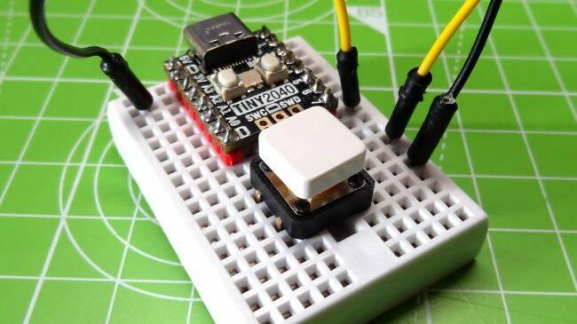 Rapsberry Pi Pico Push Button Camera Shutter
