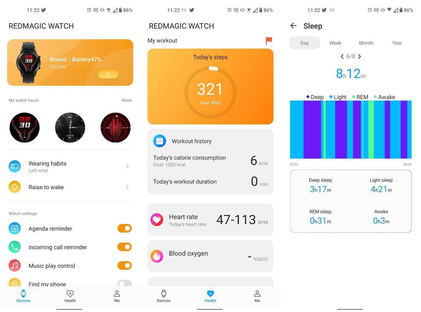 RedMagic Watch App