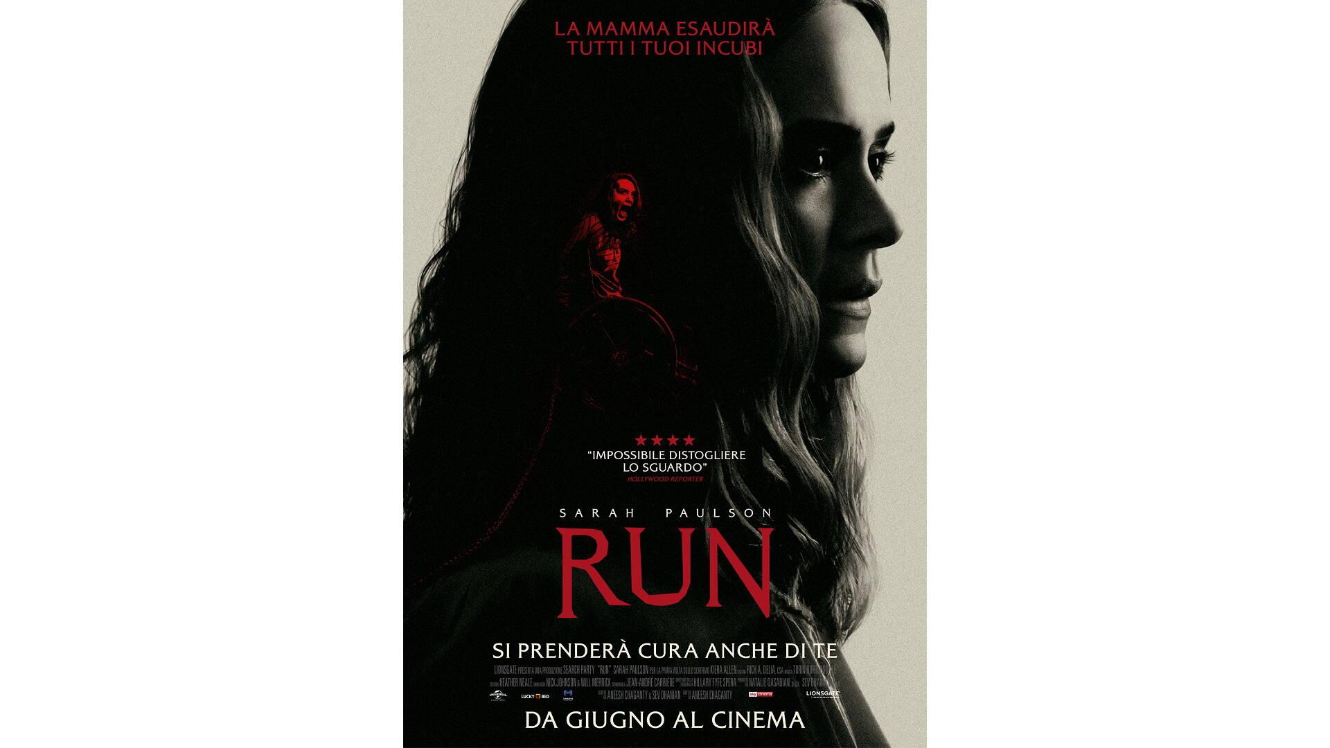 Run, clip esclusiva dell'horror con Sarah Paulson