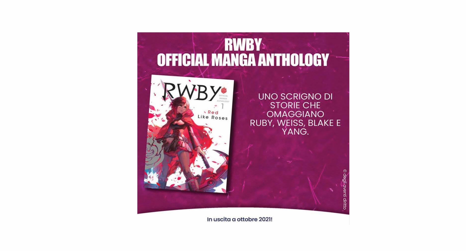 Rwby official manga anthology