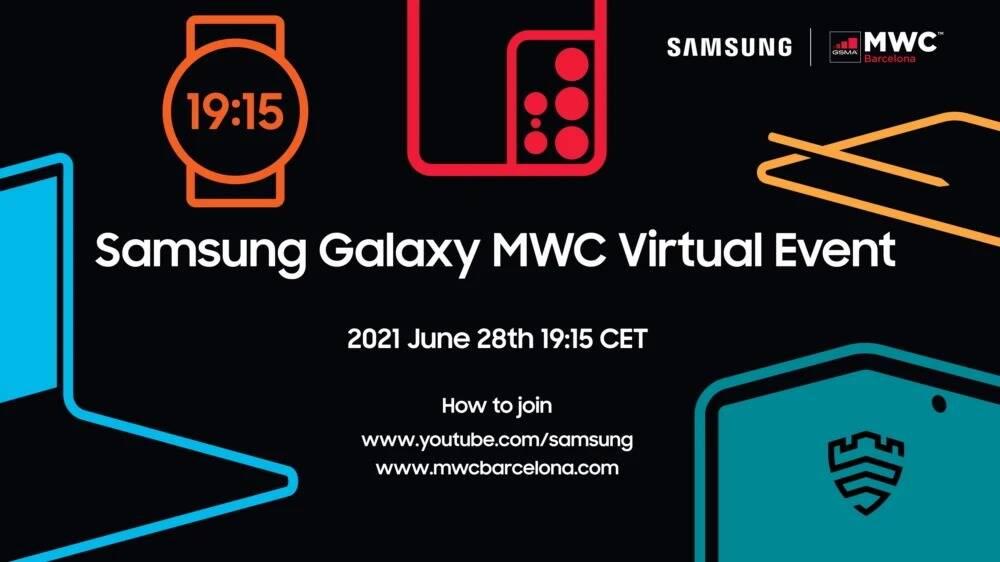 Samsung MWC 2021 evento smartwatch