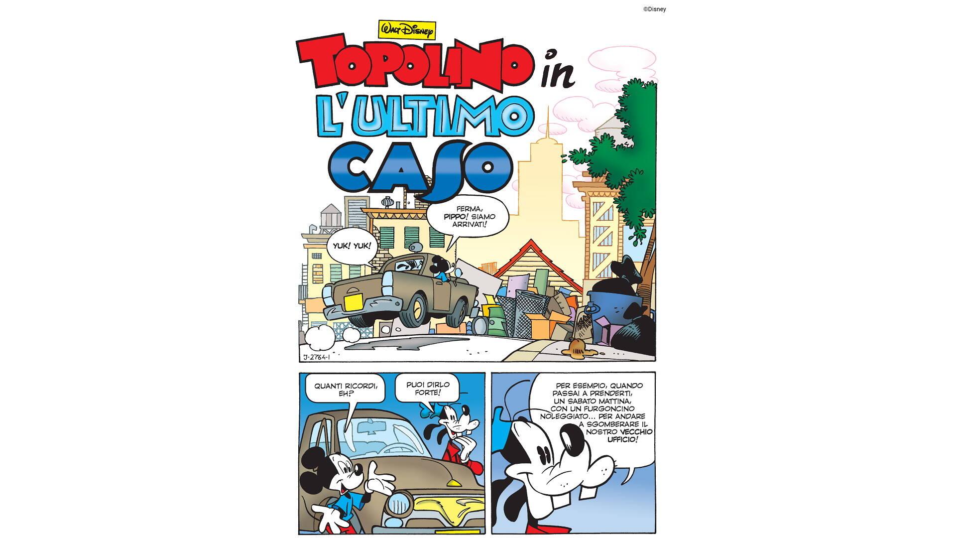 TopoNoir 1: misteri Disney secondo Tito Faraci, la recensione