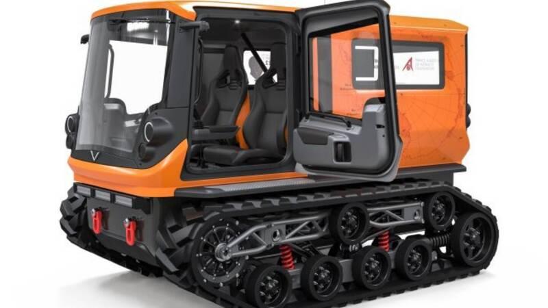 Venturi Antarctica, an electric vehicle for exploration in Antarctica