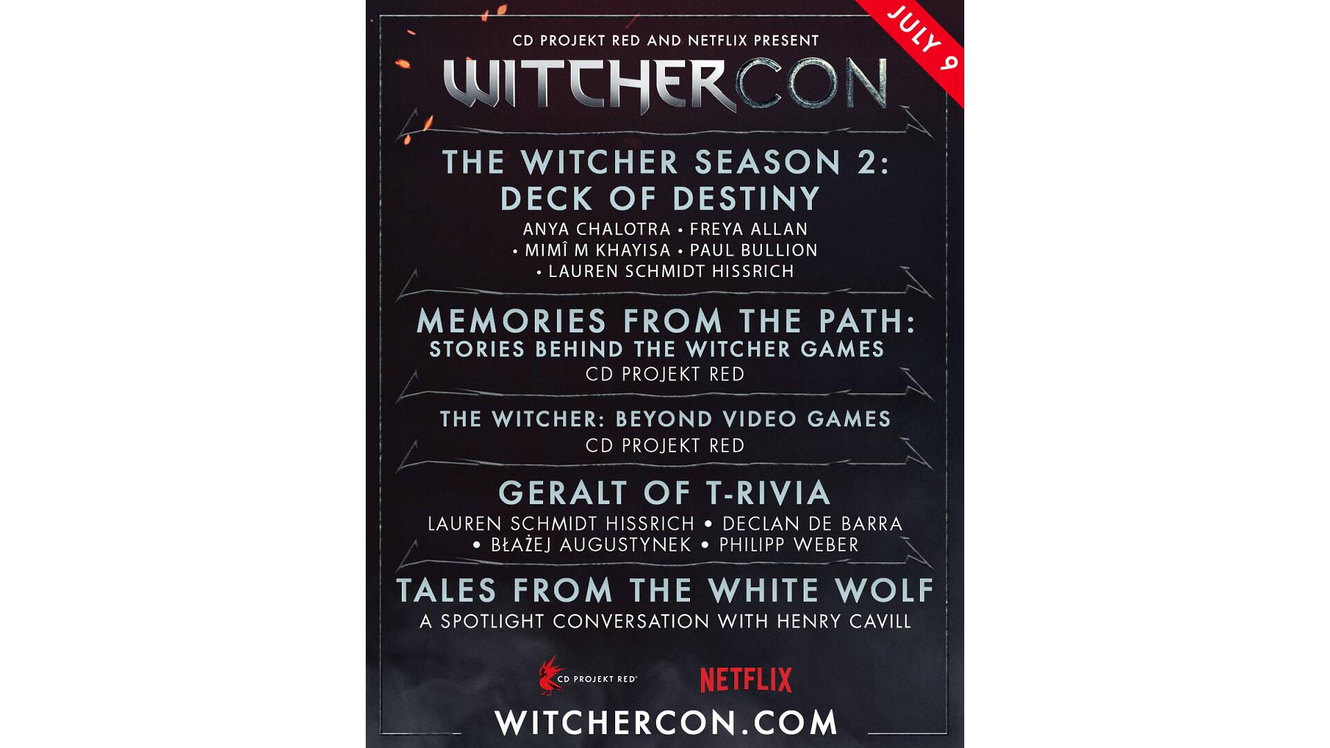WitcherCon: programma completo
