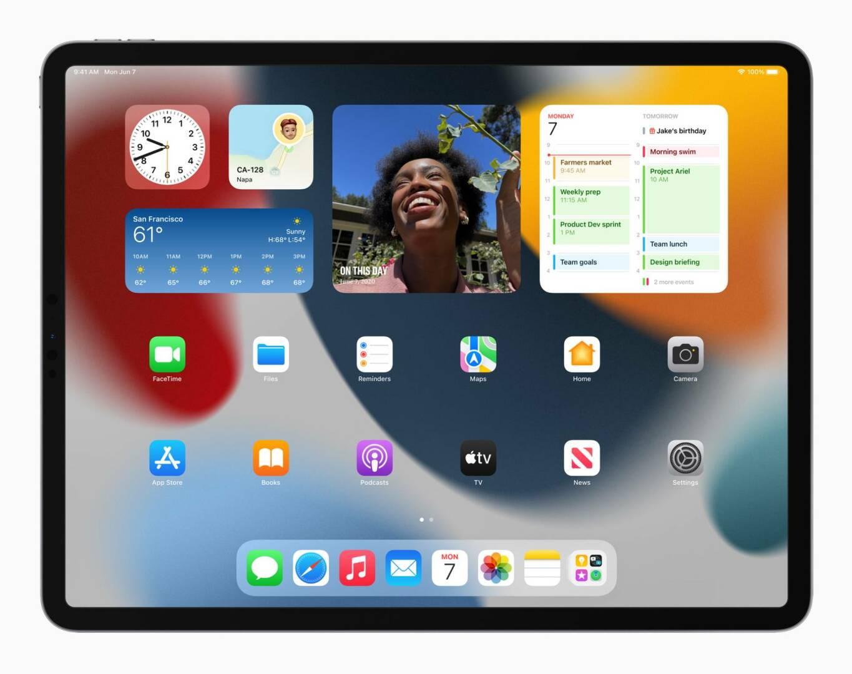 WWDC 2021 iPadOS