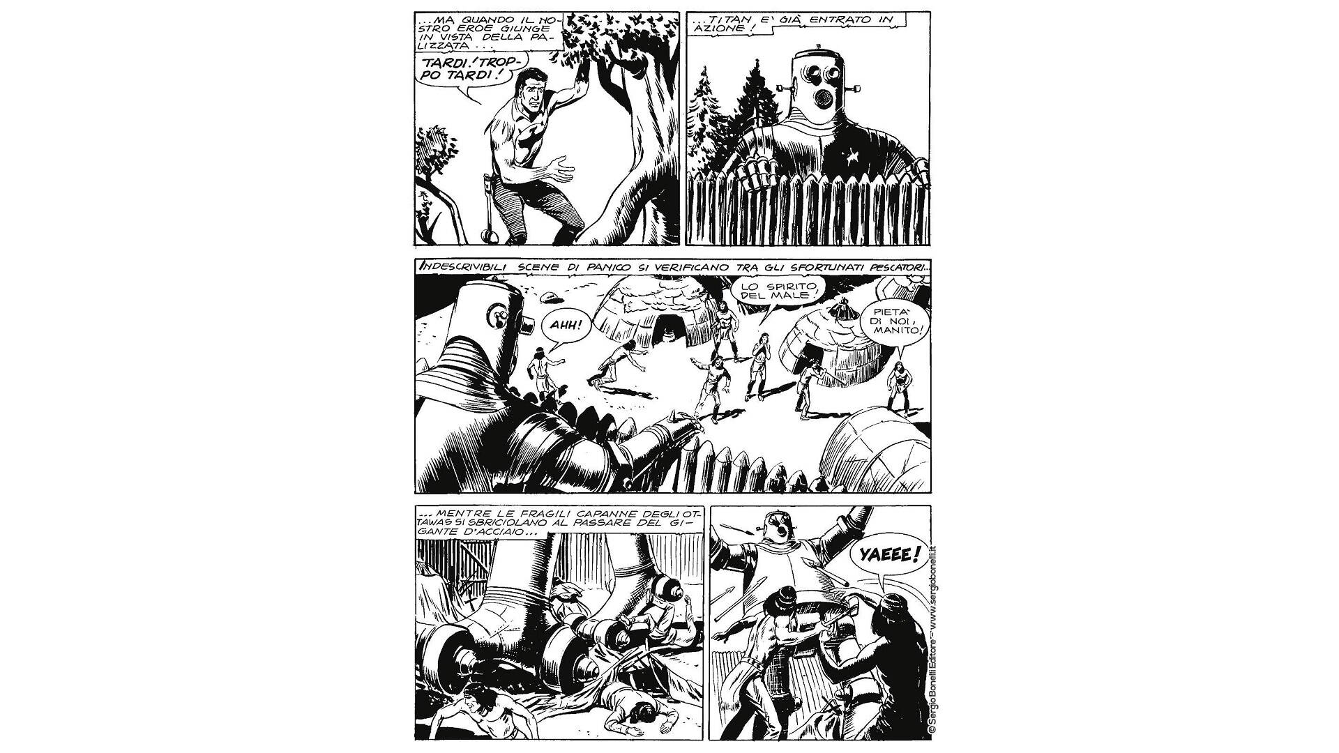 Zagor contro Hellingen - Sulle Orme di Titan, recensione