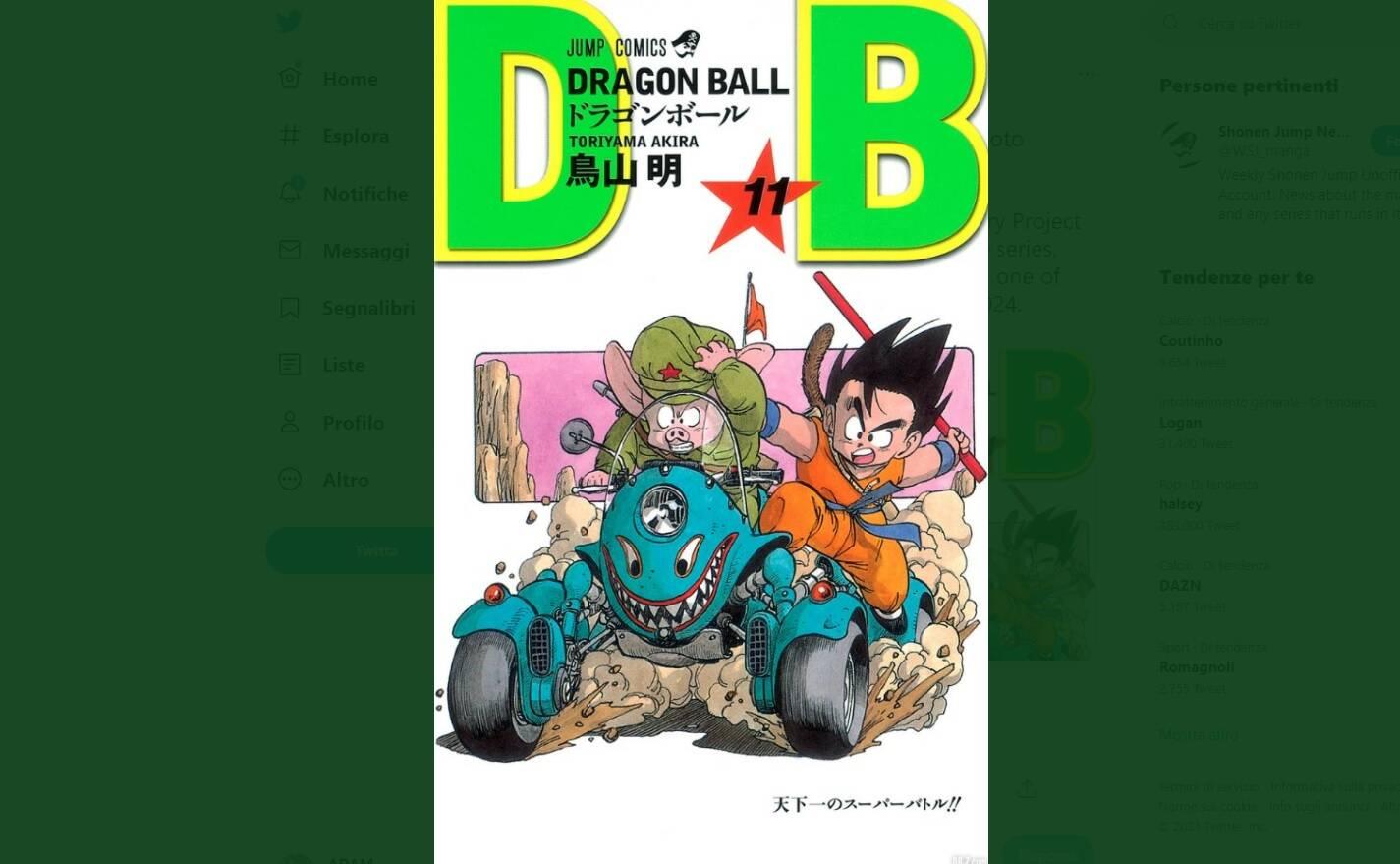 40 anni dragon ball