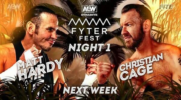AEW Dynamite Fyter Fest Night 1