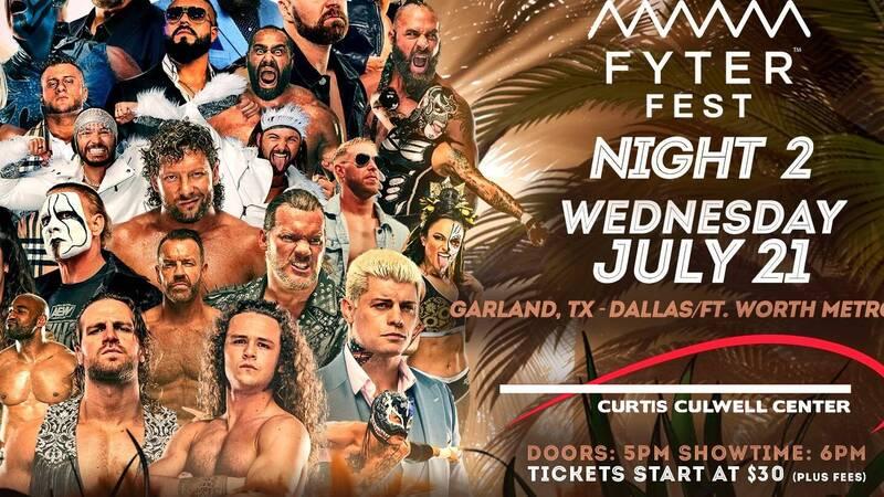 AEW Dynamite Fyter Fest Night 2, the card: Dr Britt Baker will defend the AEW Women Championship