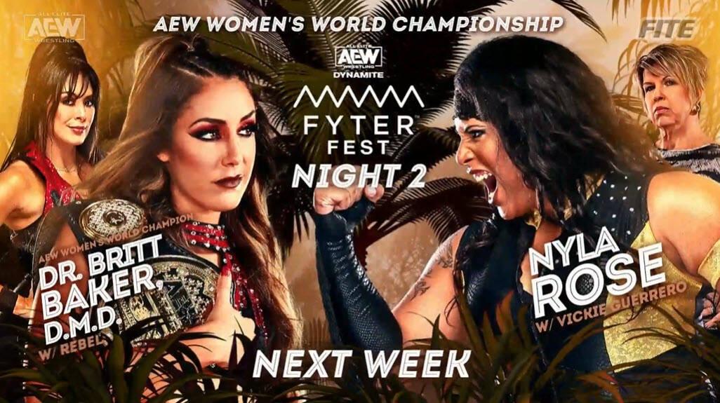 AEW Dynamite Fyter Fest Night 2