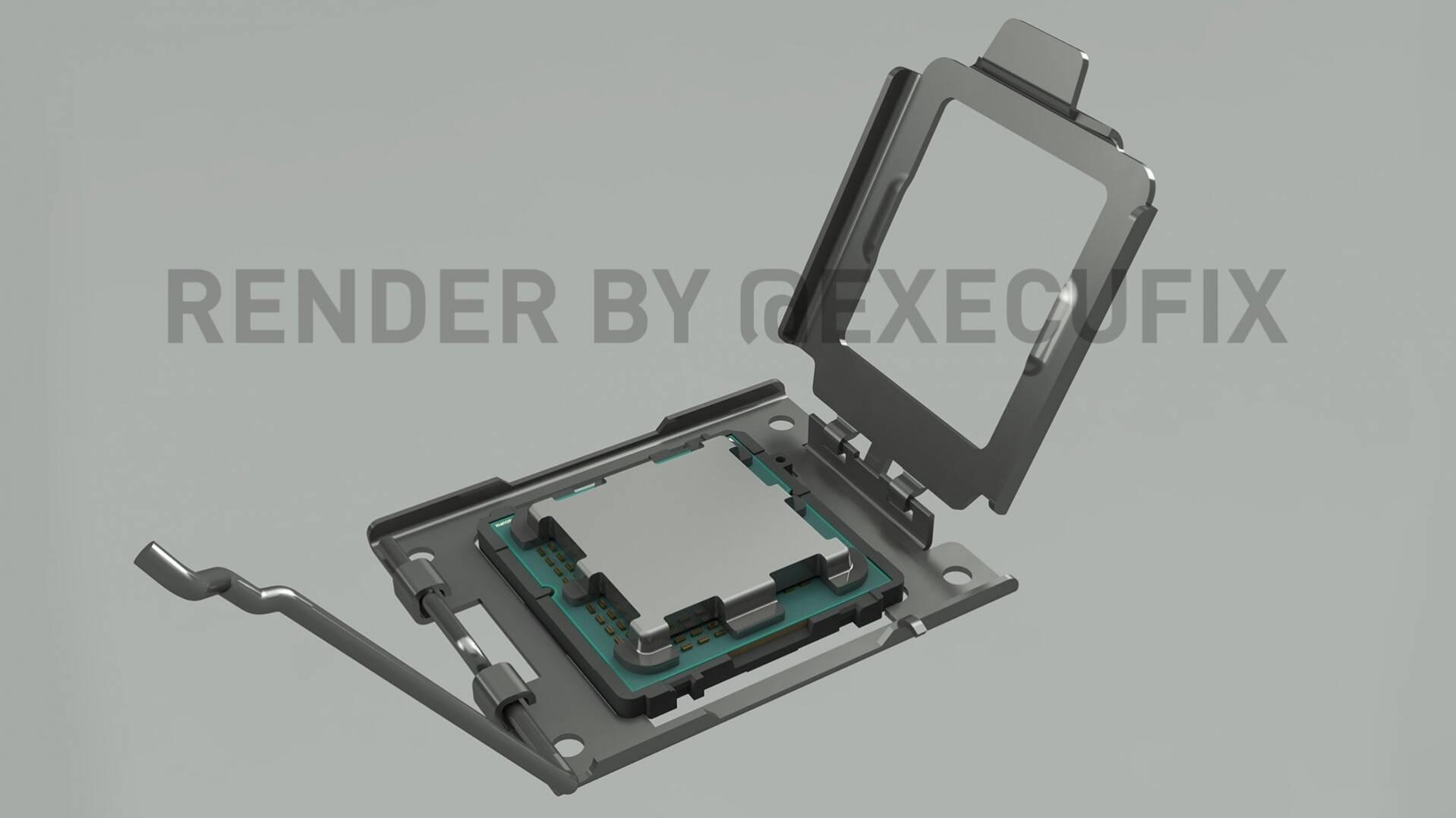 AMD AM5 Render