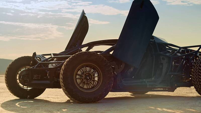 The Lamborghini Huracan is almost ready for extreme off-road races