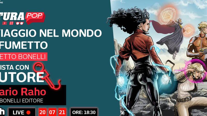 Pop Culture & Graphite present A Journey into the World of Comics - the Bonelli comic
