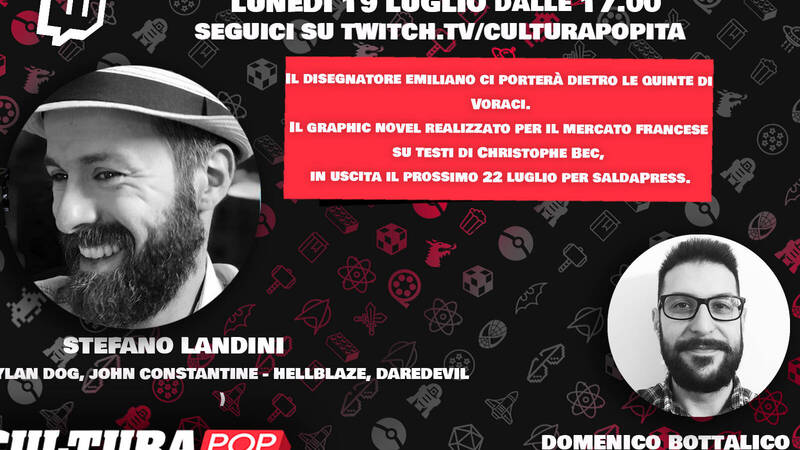 CulturaPOP presents: the comic and its authors, Stefano Landini