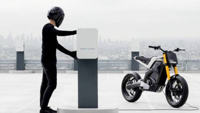 DAB Motor unveils Concept-E, the new electric motorcycle for urban mobility
