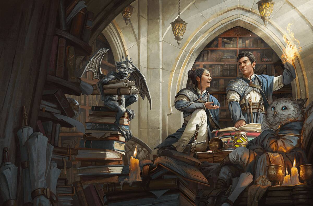 Dungeons & Dragons Strixhaven: A Curriculum of Chaos