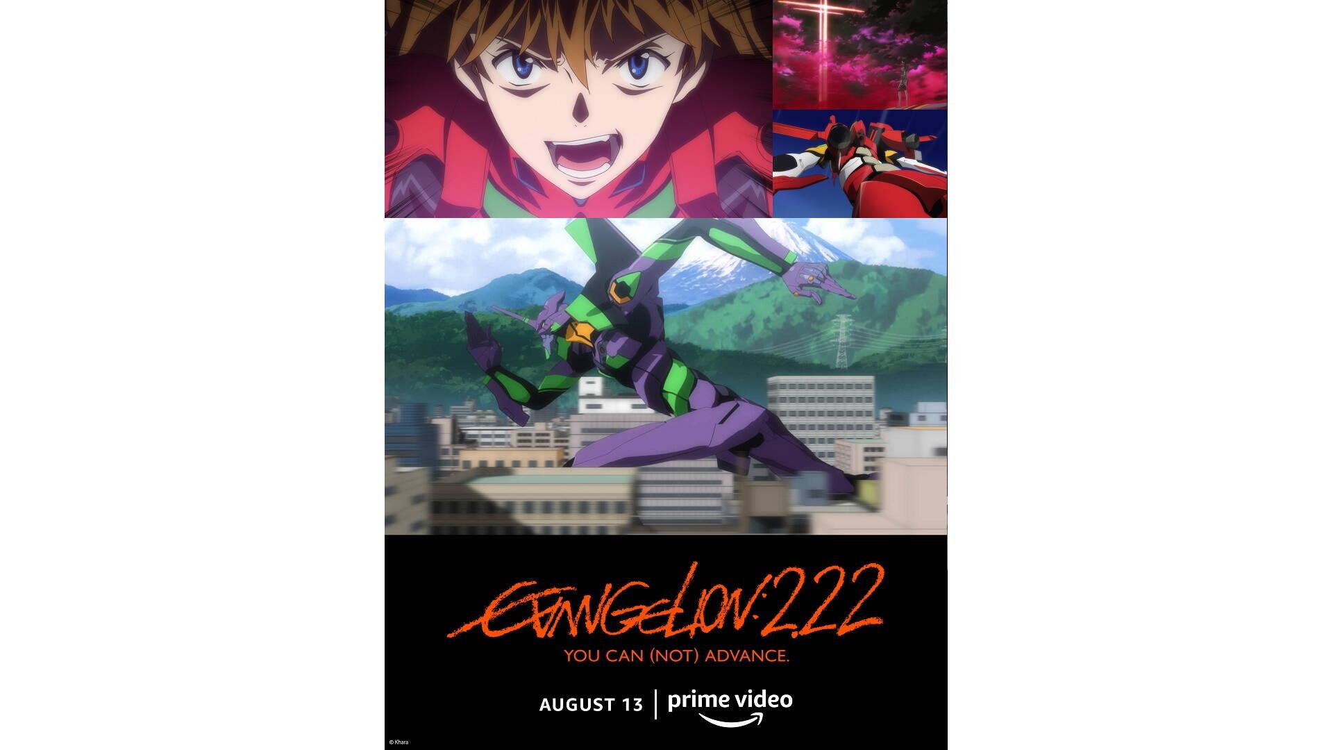 Evangelion:3.0+1.01 Thrice Upon A Time su Amazon Prime Video