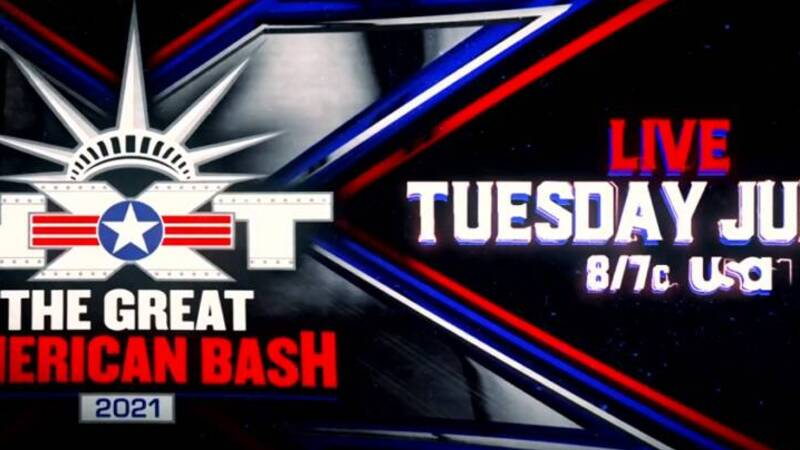 WWE NXT: The Great American Bash, meetings and previews of the event