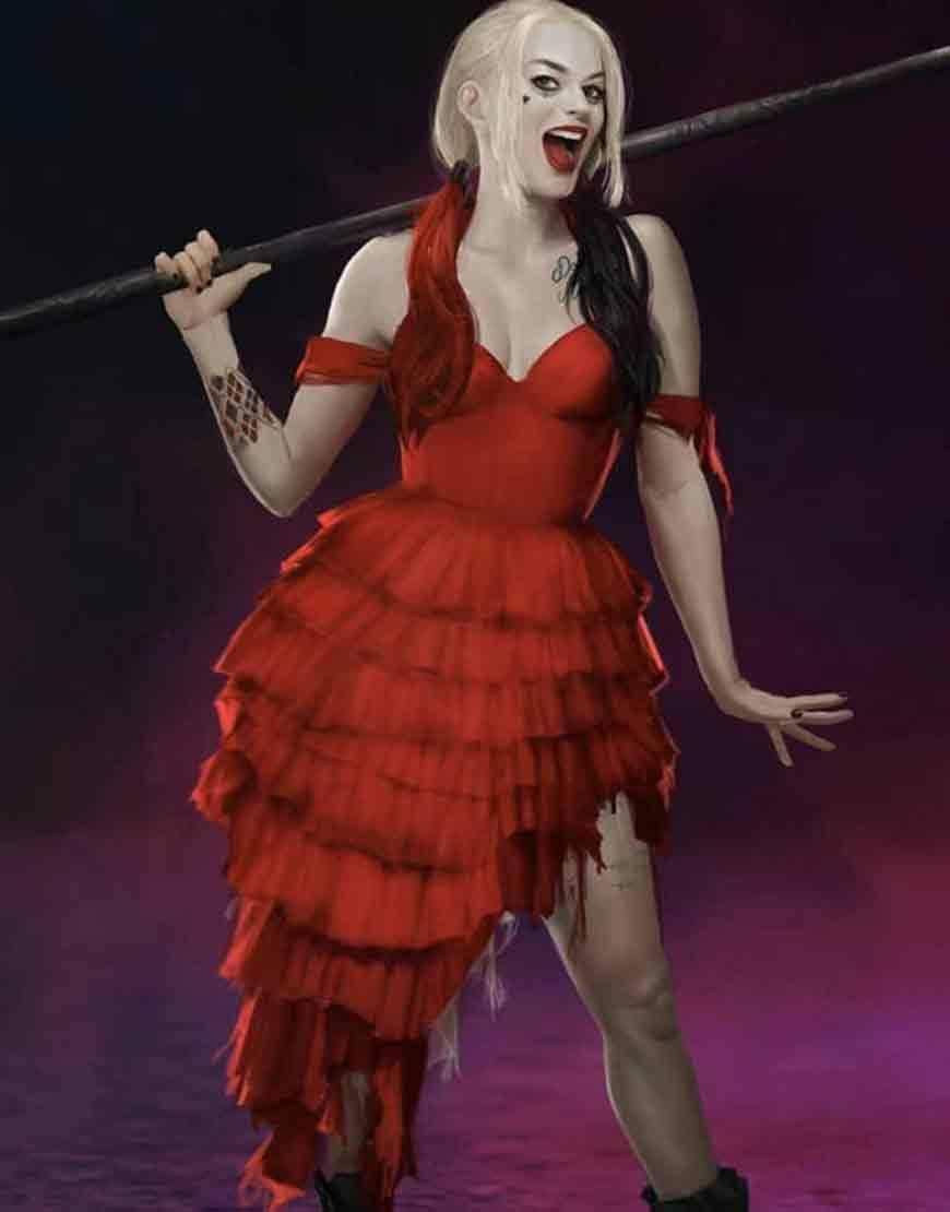 Harley Red Dress
