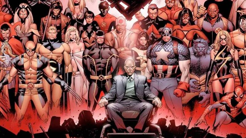 The Great Marvel Stories: House of M, the mutant world of Bendis