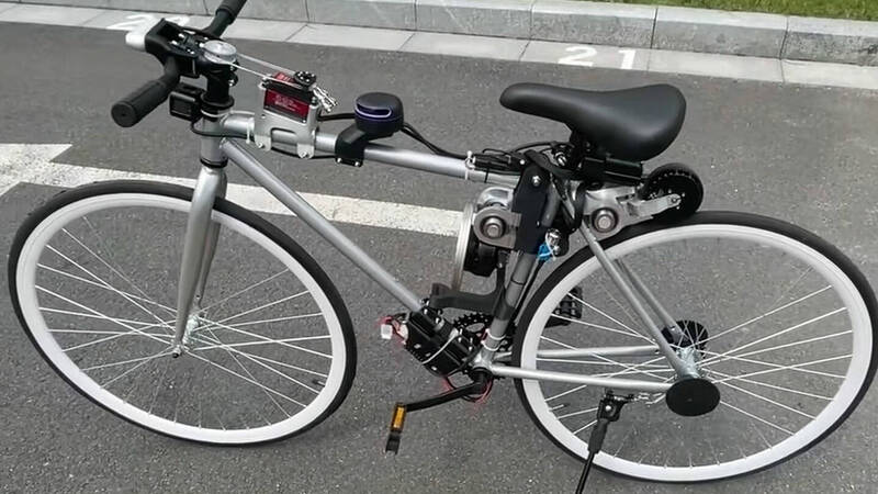 Surprise Huawei: here is a self-driving bicycle
