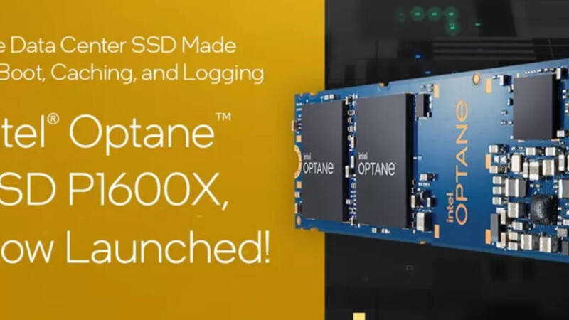 Intel, the new SSD Optane P1600X aim for maximum performance in specific tasks