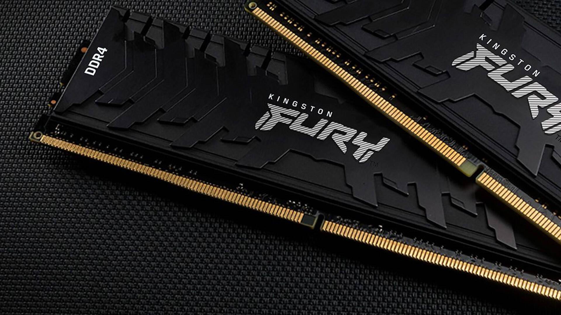 Kingston RAM DDR4 e DDR3