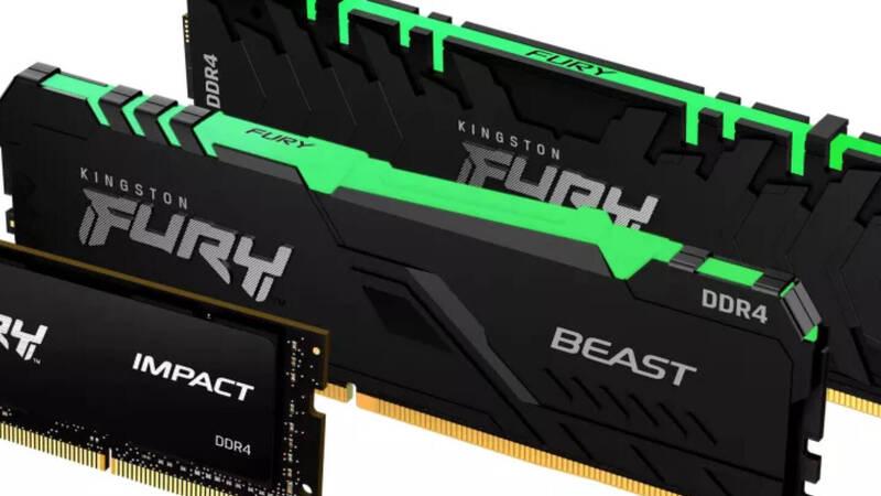 Kingston updates its RAM Fury line with three new models