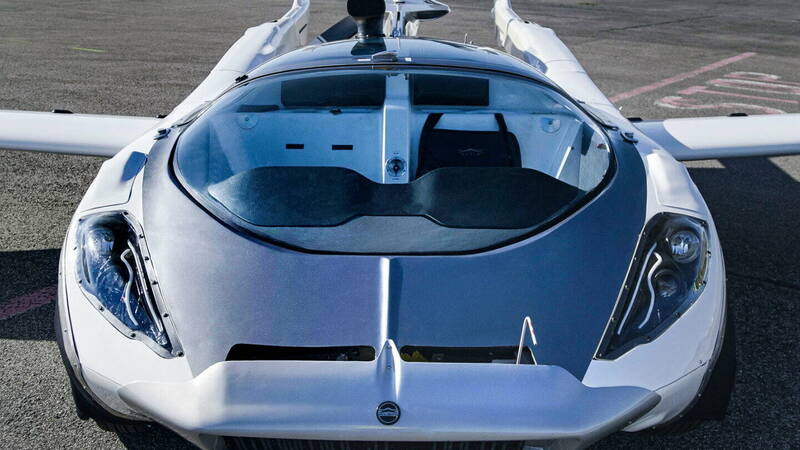 Klein Vision AirCar, the flying car in Transformers style