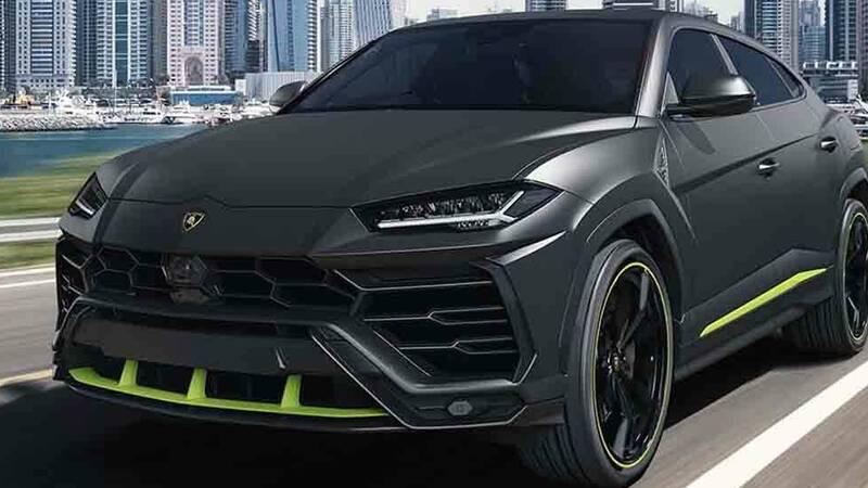 Lamborghini celebrates the record of 15,000 Urus produced