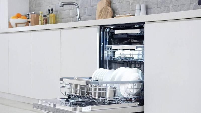 Quadwash, LG's smart and innovative dishwashers