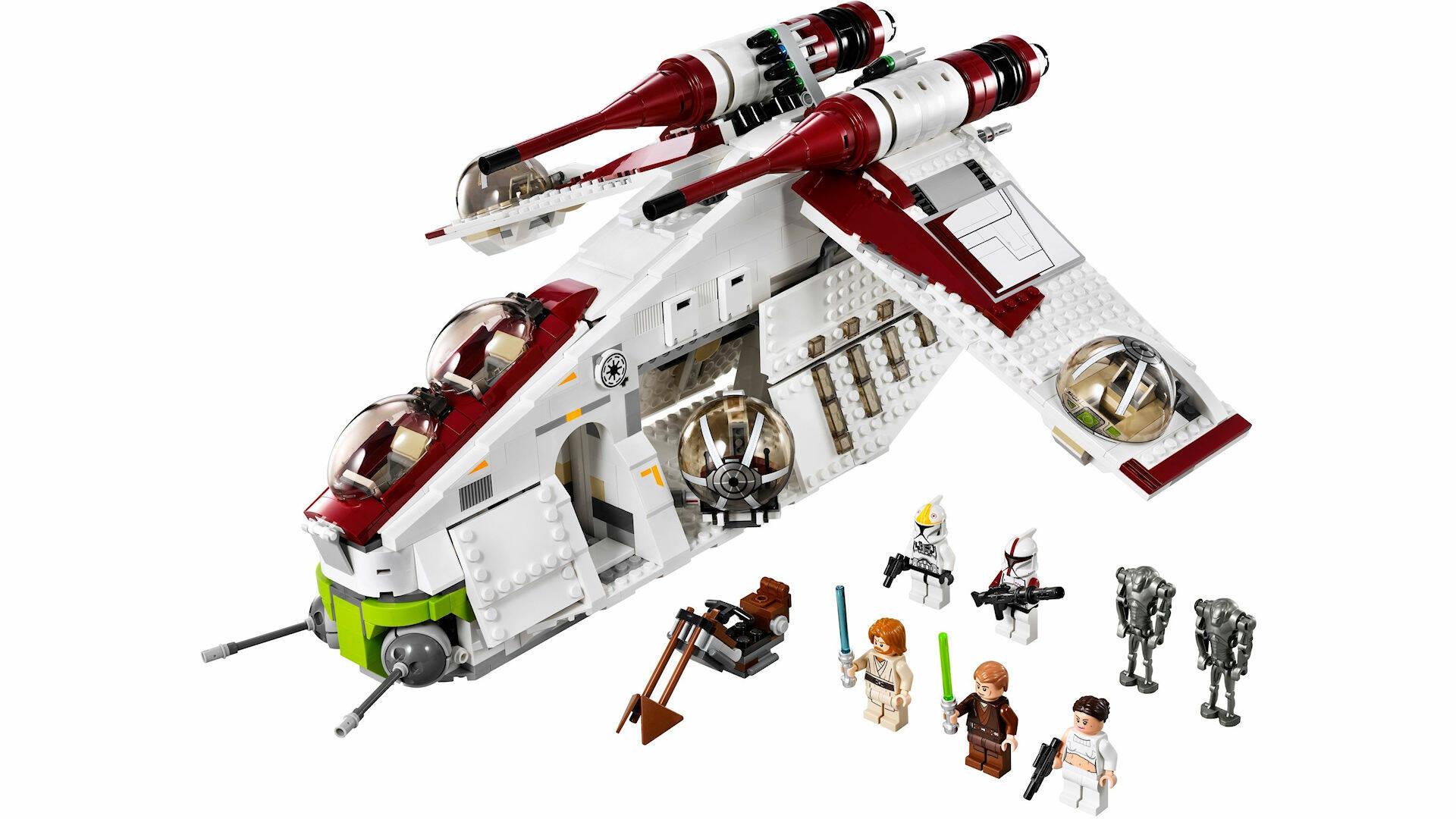 LEGO STAR WARS #75309 REPUBLIC GUNSHIP