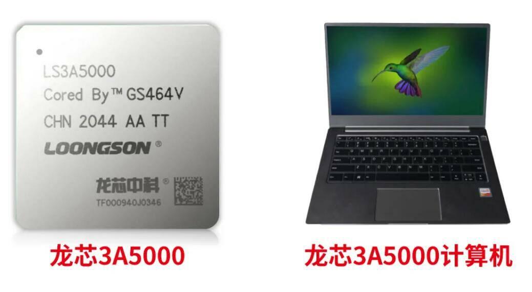 Loongson 3A5000/LS3A5000 processor