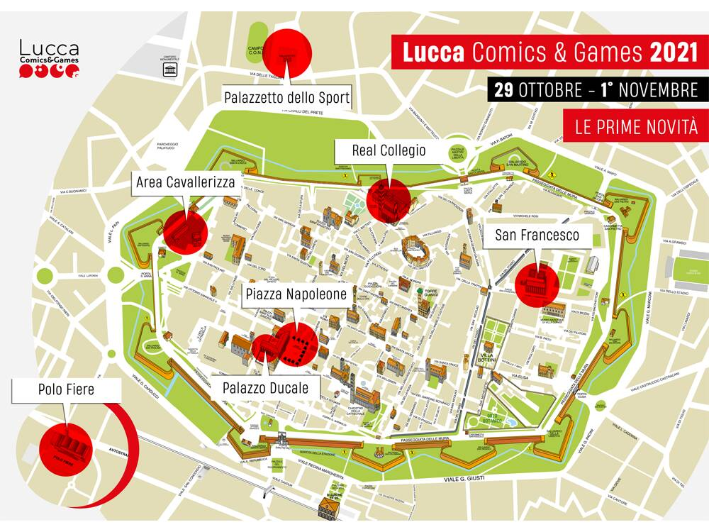 Lucca Comics and Games 2021