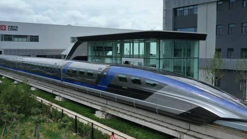 China, the world's fastest magnetic levitation train inaugurated