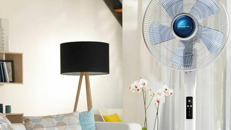 Discount fans, air conditioners and dehumidifiers on Mediaworld