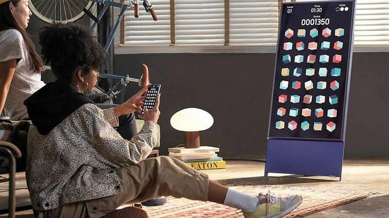 Samsung The Sero Smart TV at half price on Mediaworld