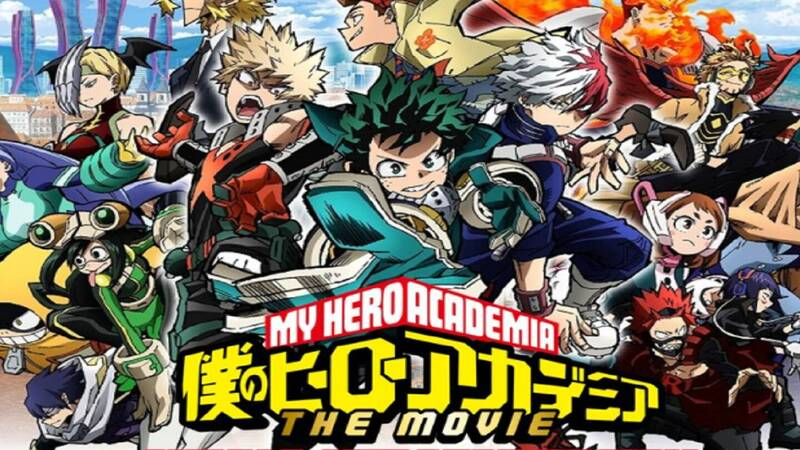 My Hero Academia World Heroe S Mission The Worldwide Fan Meeting Will Be Streamed For Free Sportsgaming Win