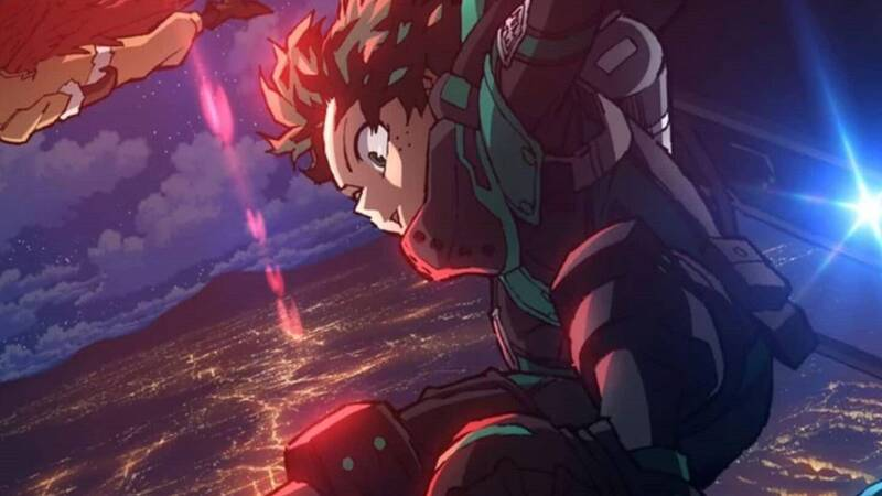My Hero Academia World Heroes' Mission: new trailer and illustration by Horikoshi
