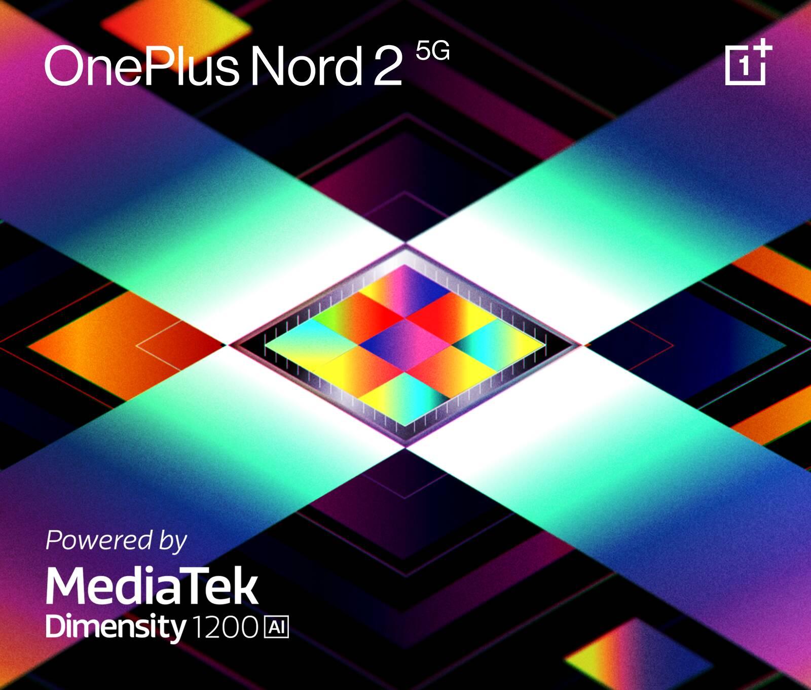 OnePlus e MediaTek 1200-AI | Nord 2 5G