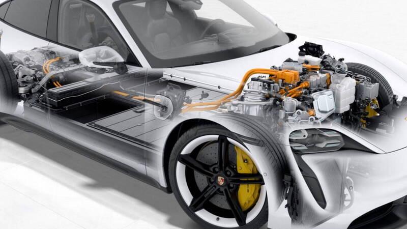 Porsche Taycan, a recall arrives for software problems