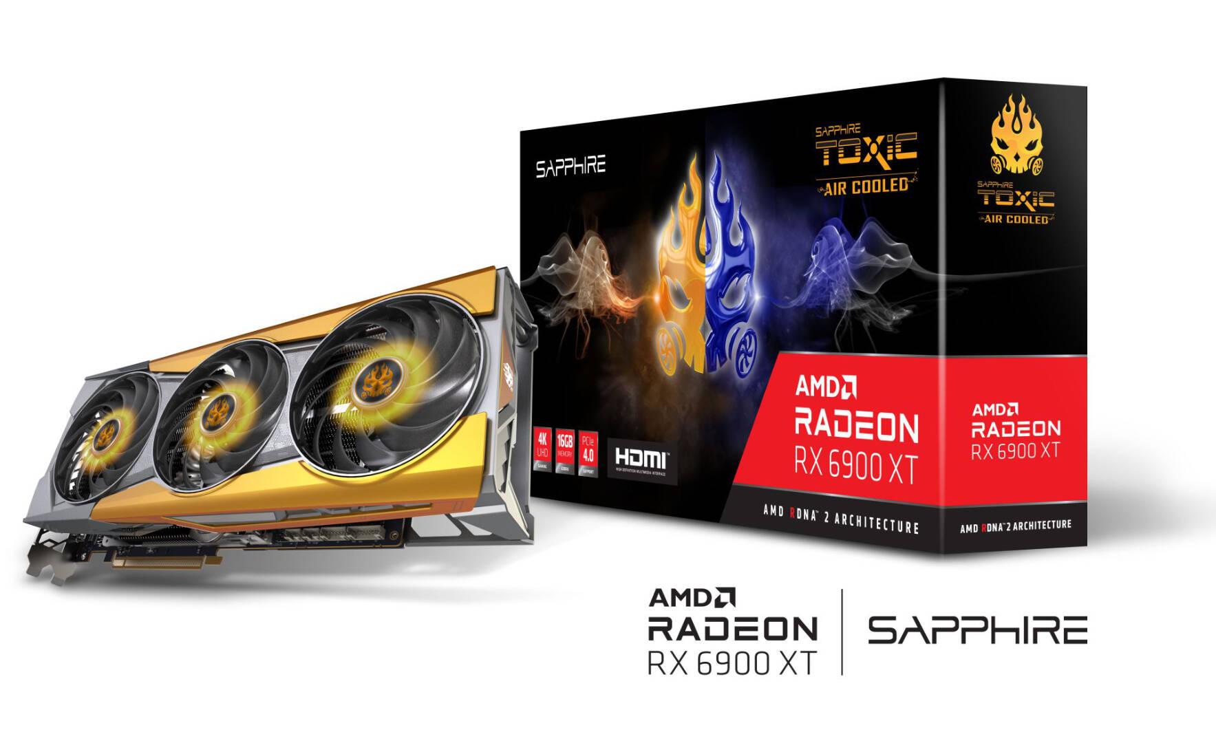 Sapphire Toxic AMD Radeon RX 6900 XT Air Cooled