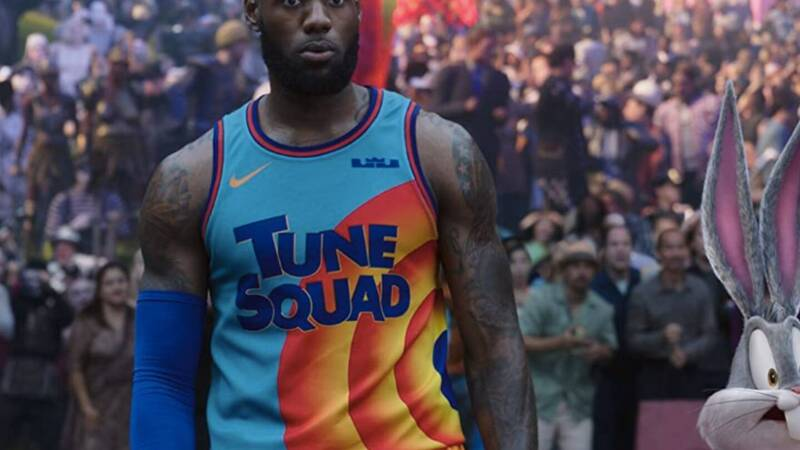 Space Jam: New Legend, Don Cheadle didn't play basketball with LeBron James