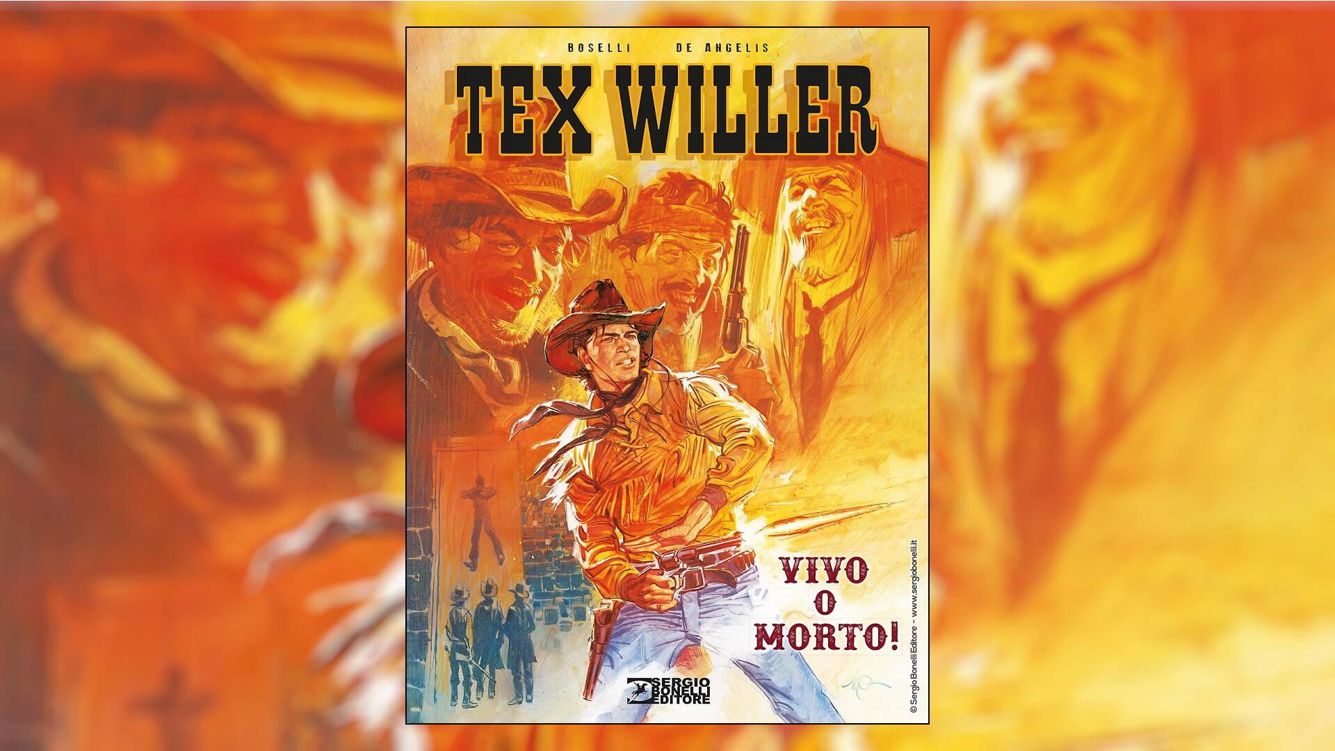 Tex Willer Vol. 1 - Vivo o Morto!, recensione