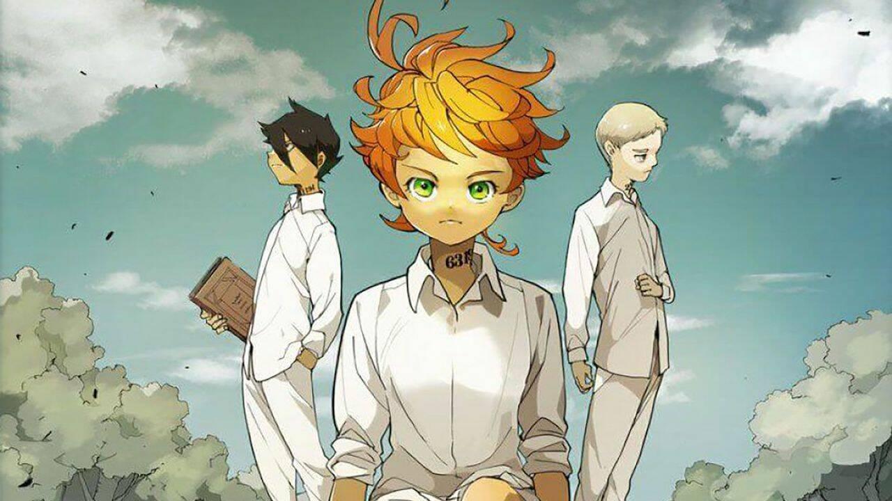 the promised neverland nuovo manga