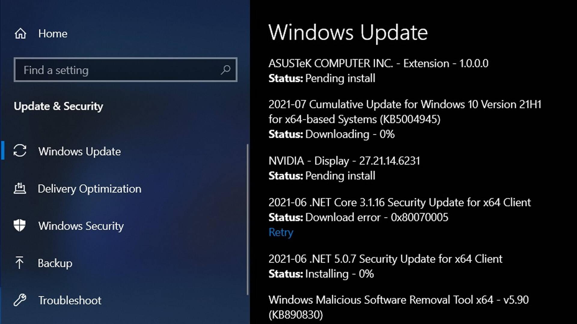 Windows 10 fix patch PrintNightmare