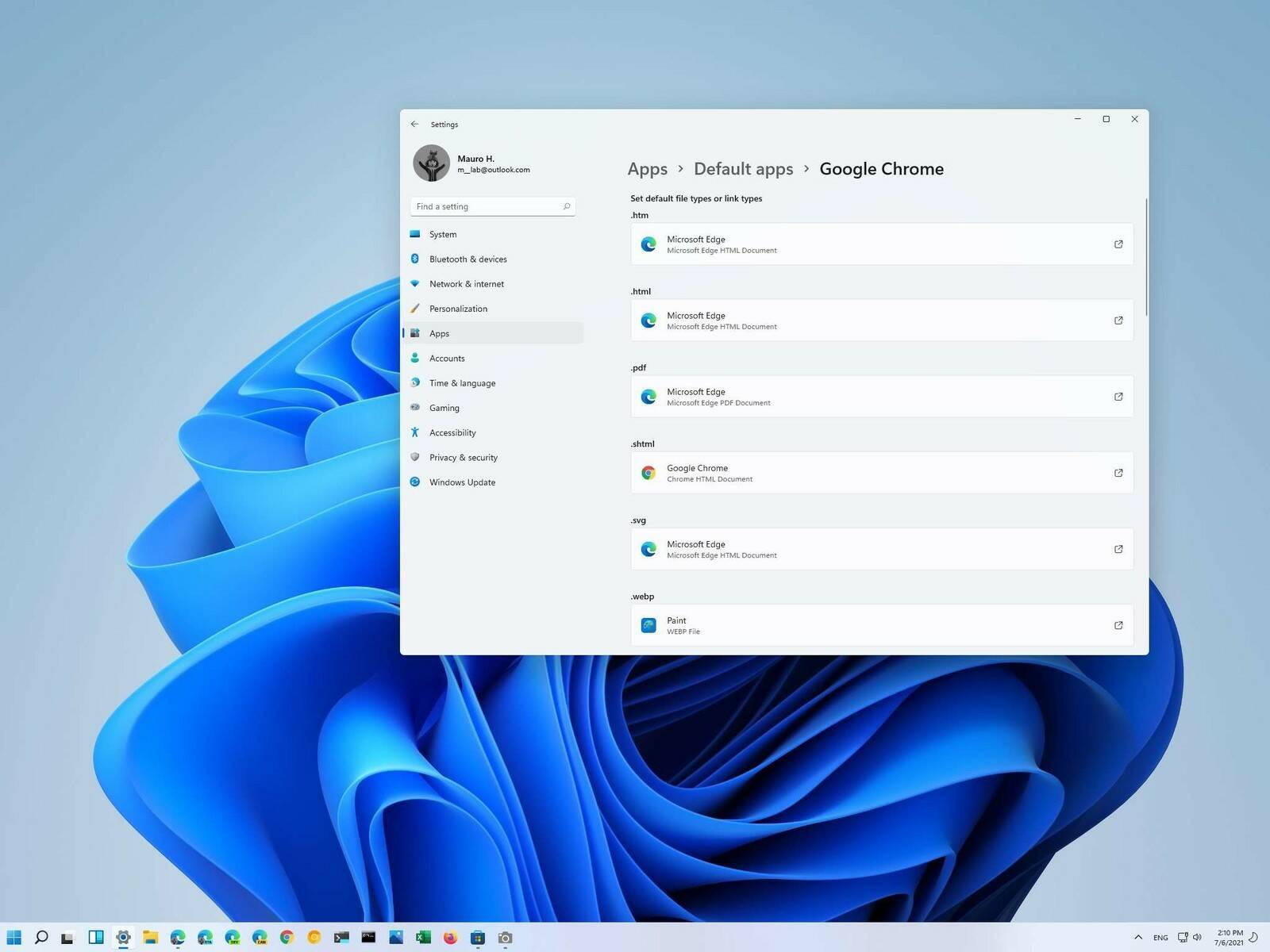 Windows 11 Browser