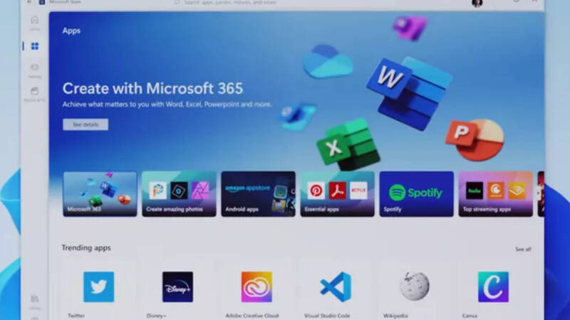 Windows 11, new details on updating apps on the Microsoft Store